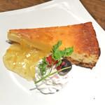 69113033 - 柚子と酒粕香るチーズケーキ(税込450円)