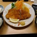 69113412 - ロースカツ定食(1296円)