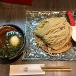 柳麺 呉田 - 料理写真:「ざるつけ麺」820円+味玉