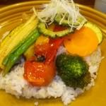 69114283 - 12品目の旬の野菜カレー