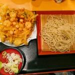瀬谷そば - 海鮮天ぷら蕎麦750円