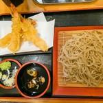 瀬谷そば - えび天蕎麦850円