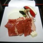 開花亭 - 牛ロース焼