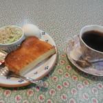 エトワール - 料理写真:ブレンドコーヒー&モーニングセット