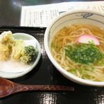 """69118416 - """"かけ""""と""""牡蛎天ぷら"""""""