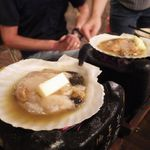 ダイニングデュアル - ホタテ貝焼き