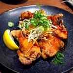 69118830 - ピリ辛鶏もも肉の唐揚げ¥550 2017.4.27