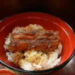 炭焼 うなぎと旬菜 藤城 - ミニ鰻丼(アップ)