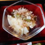 旬菜‐小豆 - わらびとタケノコの煮びたし