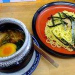 梅公 - しょう油温つけ麺
