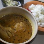 こだわり - 料理写真:スープカレー600円