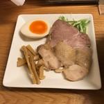 麺遊心 - 極上の魚だしラーメン(トッピング)