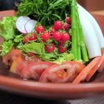 69120807 - 蒸し鶏&豆腐のごまサラダ