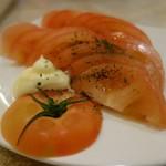 ガブリチキン - トマトスライス