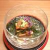 日本料理 きた川 - 料理写真:先付 雲丹 ジュンサイ 海ブドウ
