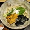 つきじ 文化人 - 料理写真:雲丹とうふ蕎麦 1,540円