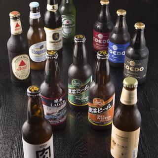 クラフトビール多数ご用意!