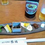 Butasute - 旬のお野菜嬉しいです。味噌うまっ