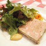 ブラッスリー・グー - メニューA 1080円 のお肉のテリーヌ