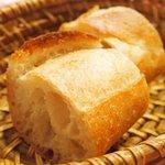 ブラッスリー・グー - メニューA 1080円 のパン