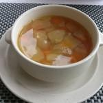 屈斜路湖 鶴雅オーベルジュ SoRa - スープ