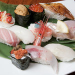 松乃鮨 - 至高の寿司特上握り