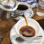 自家焙煎 珈琲屋 ドリーム - エスプレッソマイルドのポットサービス