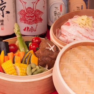 ◆大阪唯一のブランド豚・犬鳴ポークを使用したコース◆