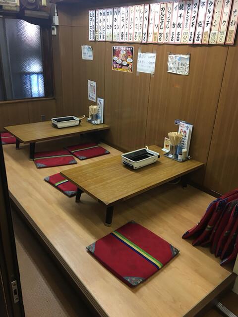 空 鶴橋総本店 - 何故か二階にゲストが居なかった