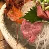 Yuujin - 料理写真:牛刺しおったぁ♪(๑ᴖ◡ᴖ๑)♪