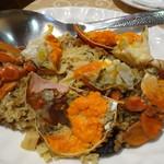 阿霞飯店 - デラツクコーススの蟹おこわ