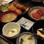 味処こまつや - まぐろ定食¥1380-