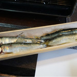 鮎茶屋 かわせ - 鮎の塩焼き