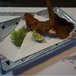 鮎茶屋 かわせ - 鮎の唐揚げ