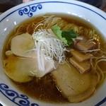 桜木製麺所 - 醬油中華そば680円