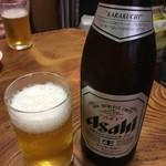 アリラン - ドリンク写真:まずは冷えた瓶ビールで!