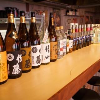 ビール・焼酎・日本酒、、、豊富なドリンクメニュー!