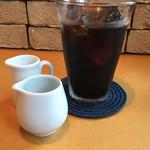 パスタエクスプレス ベイジル - アイスコーヒー。