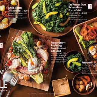 ◇ランチ・ディナー◇アメリカ各地の味を楽しんで。