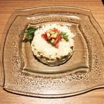 はれや別邸 - 蟹ポテトサラダ