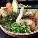 69147334 - 野菜天ぶっかけ(630円)