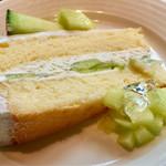 69147516 - 『メロンのショートケーキ』(ハーフサイズ)