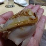 TTOAHISU - ◆煮蛤・・立派な蛤ですこと。フックラ煮こまれていますし、ツメの味わいもいい品。