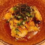 喜助 - 長茄子と海老のあんかけ