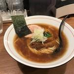 はちどり - 煮干しラーメンの醬油味(700円)