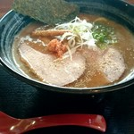Sapporosakeramemmenshouakamatsu - 鮭ドロ(醤油)