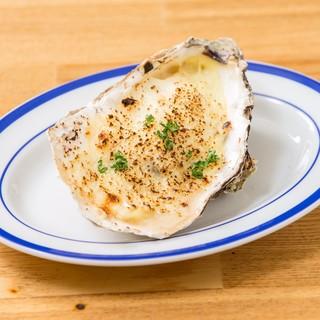 北海道産の新鮮で旨味たっぷりの牡蠣メニューも楽しめます!