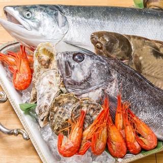 北海道・厚岸(あっけし)直送の魚介をカジュアルに楽しめる♪