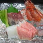 松乃鮨 - 新鮮なネタでの刺身は絶品です。