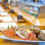 松乃鮨 - 新鮮なネタです。